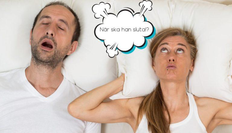 Tio tips – så får du din partner att sluta snarka