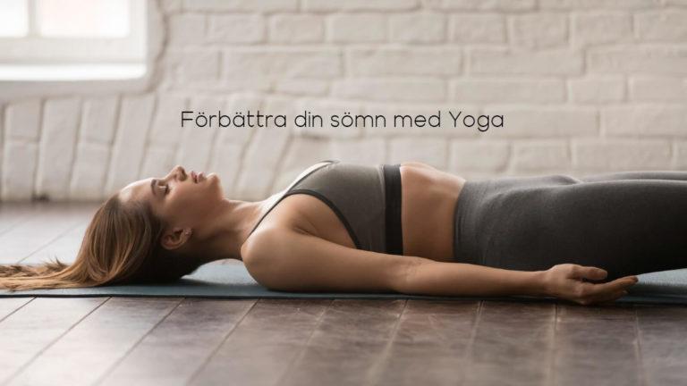 Yoga dig till sömns!